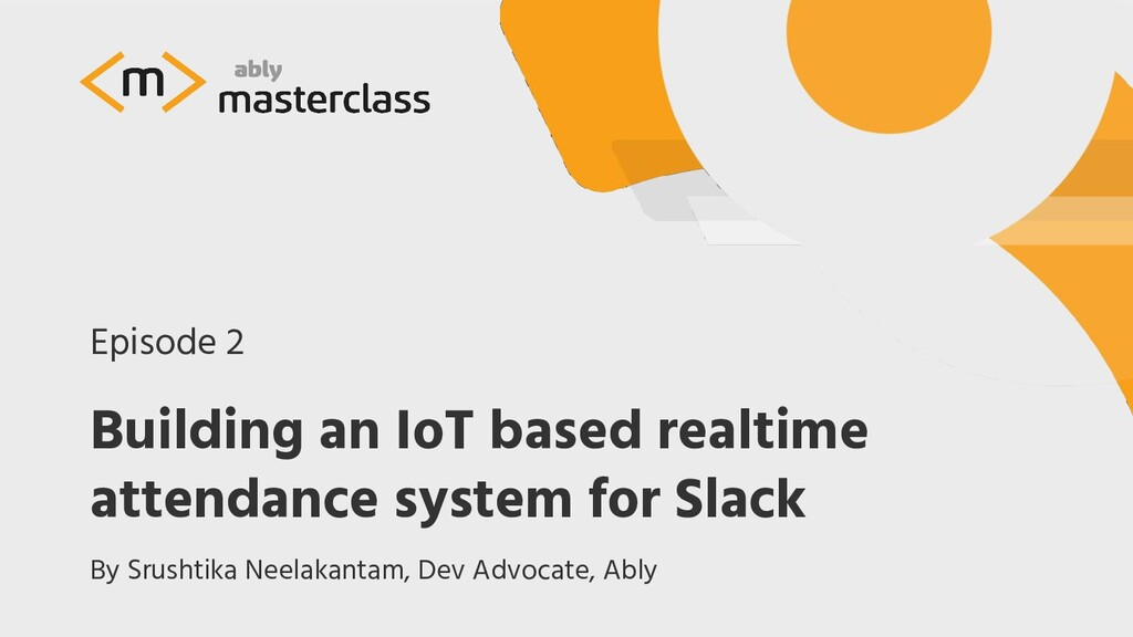 Building an IoT based realtime attendance syste...