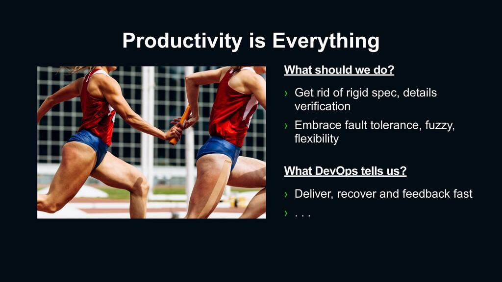 Productivity is Everything What should we do? ›...