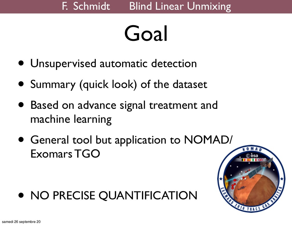 • Unsupervised automatic detection • Summary (q...