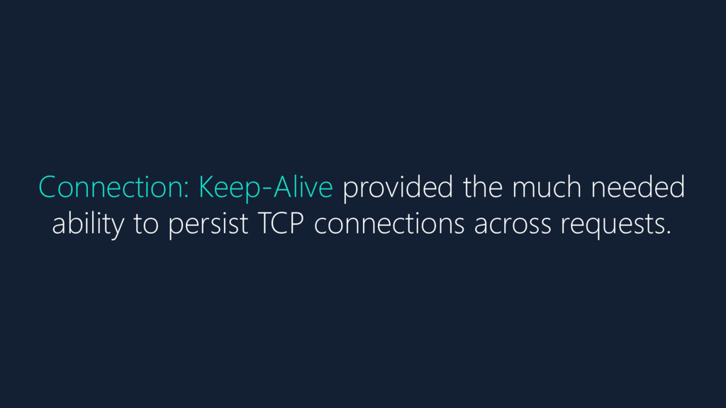 Connection: Keep-Alive provided the much needed...