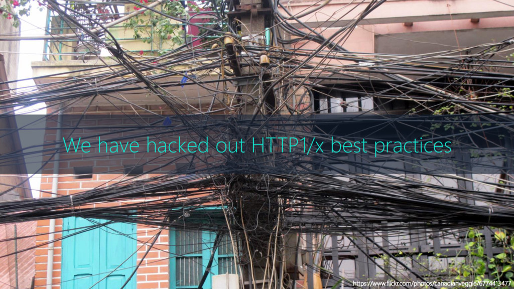 We have hacked out HTTP1/x best practices https...