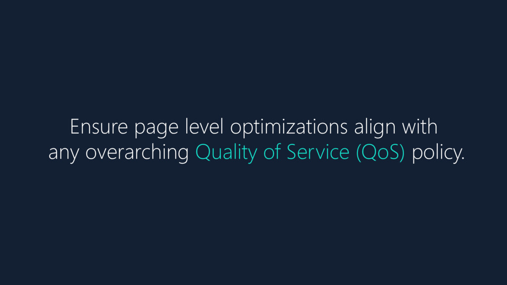 Ensure page level optimizations align with any ...
