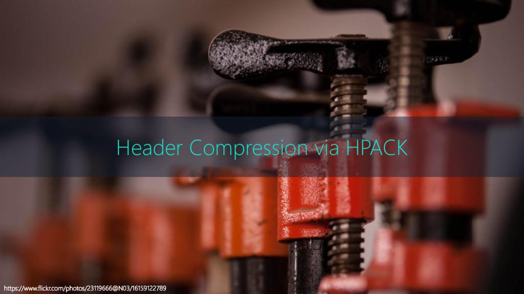 Header Compression via HPACK https://www.flickr...