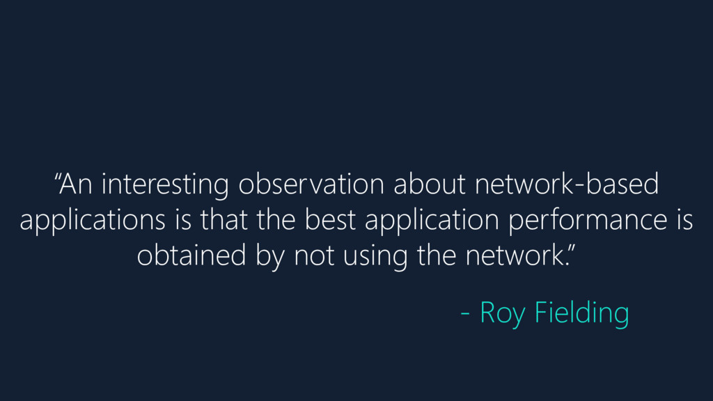 """""""An interesting observation about network-based..."""