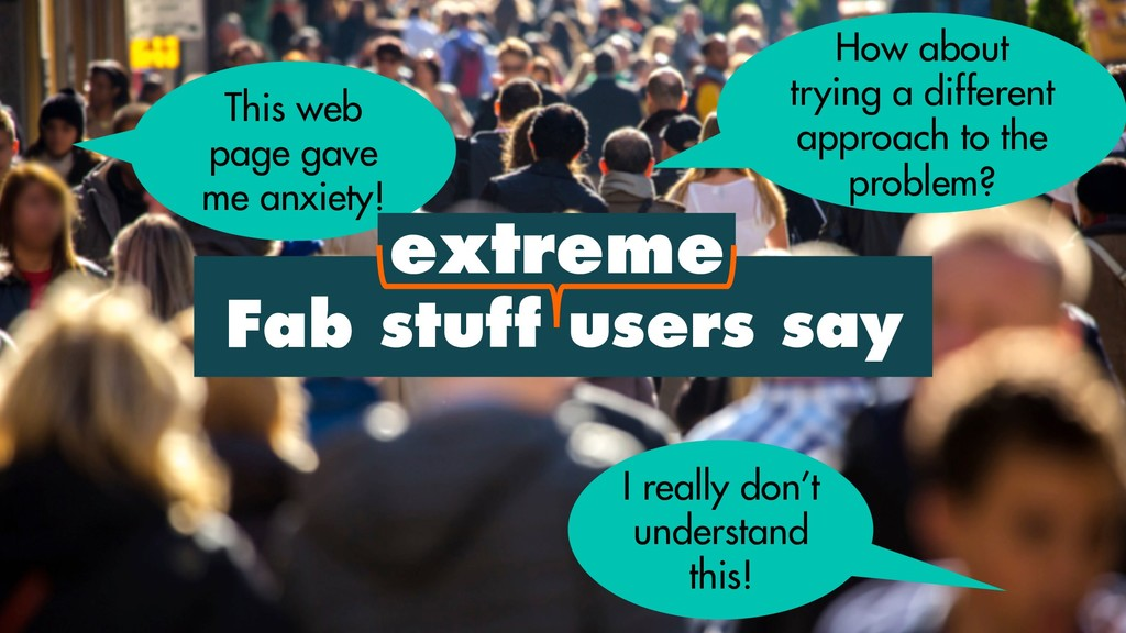 Fab stuff users say This web page gave me anxie...