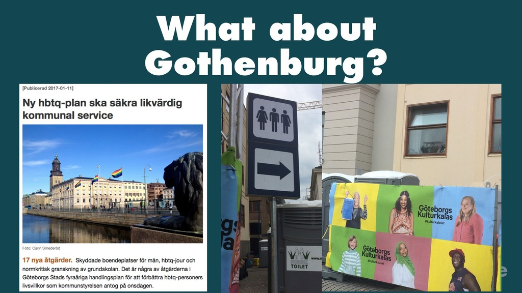 What about Gothenburg?