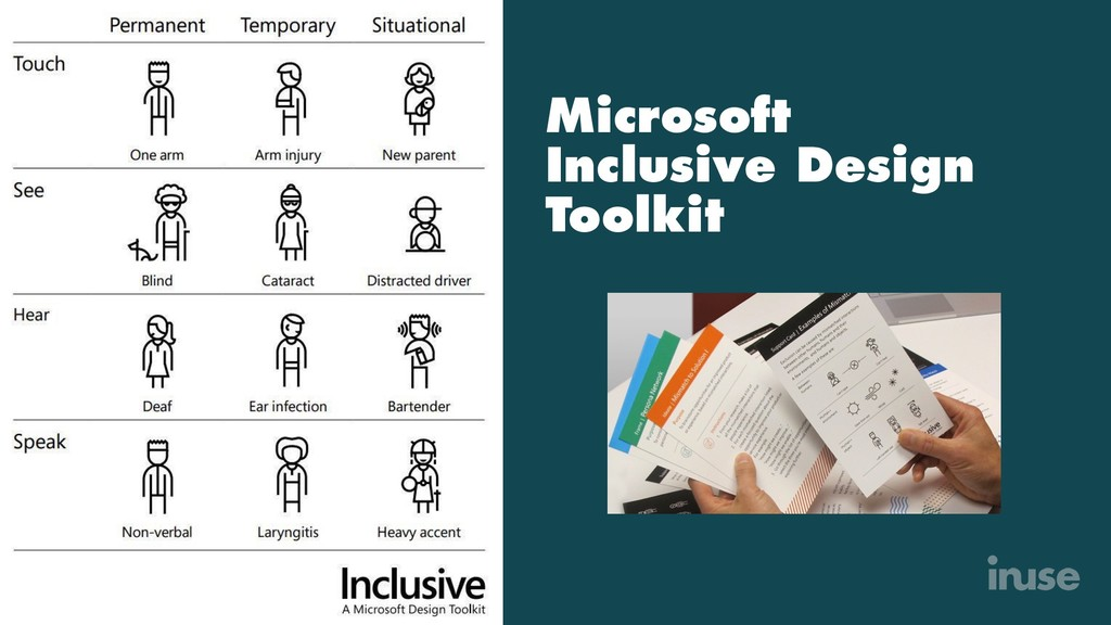Microsoft Inclusive Design Toolkit