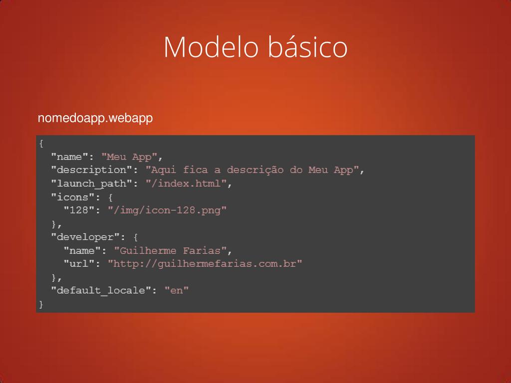 nomedoapp.webapp Modelo básico