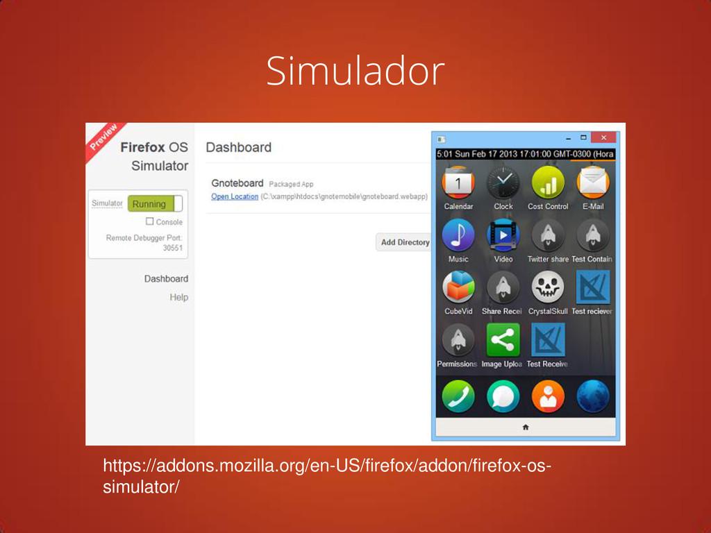 Simulador https://addons.mozilla.org/en-US/fire...
