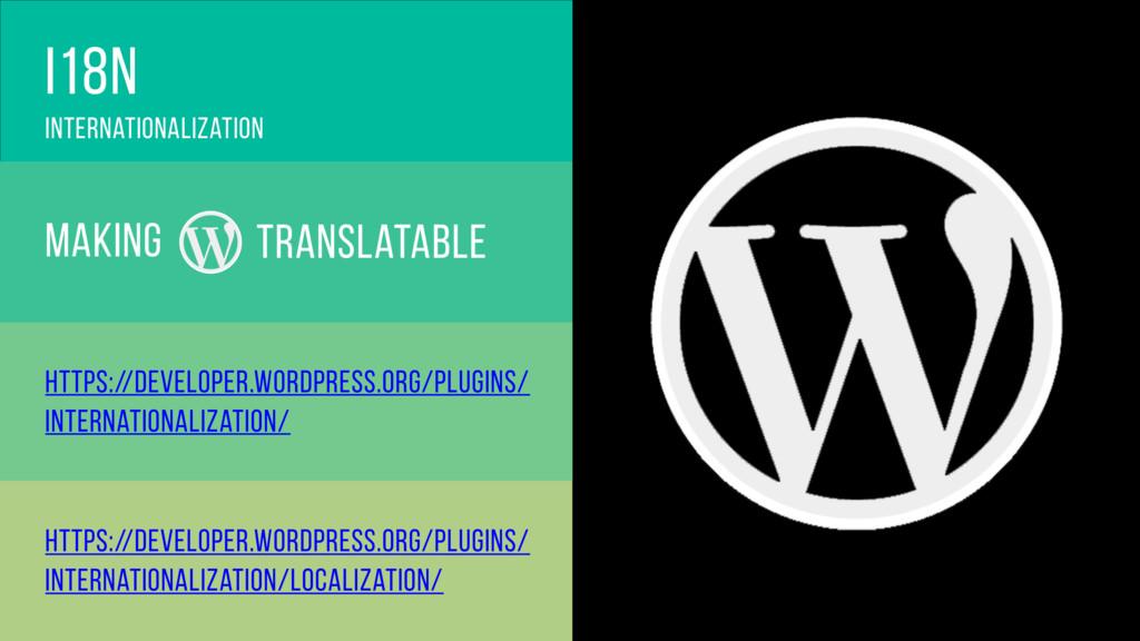 i18n Internationalization translatable making h...