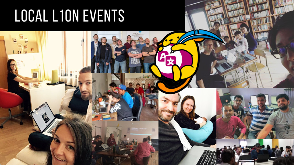 local l10n events