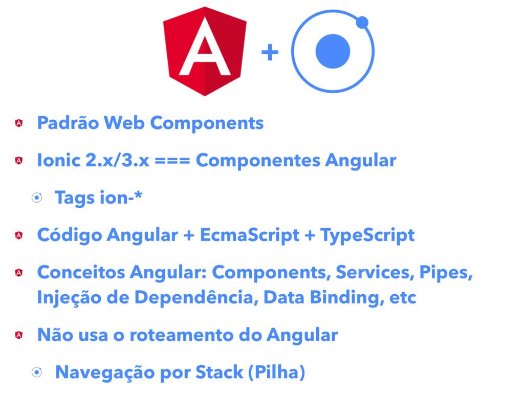 Padrão Web Components Ionic 2.x/3.x === Compone...