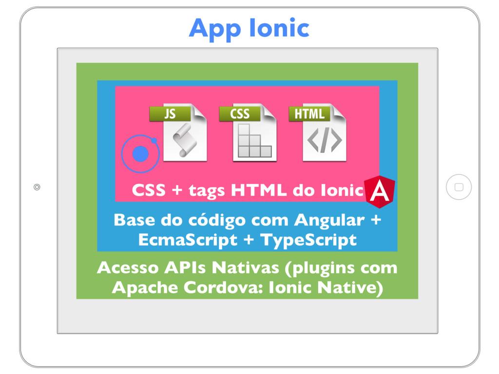 App Ionic Acesso APIs Nativas (plugins com Apac...