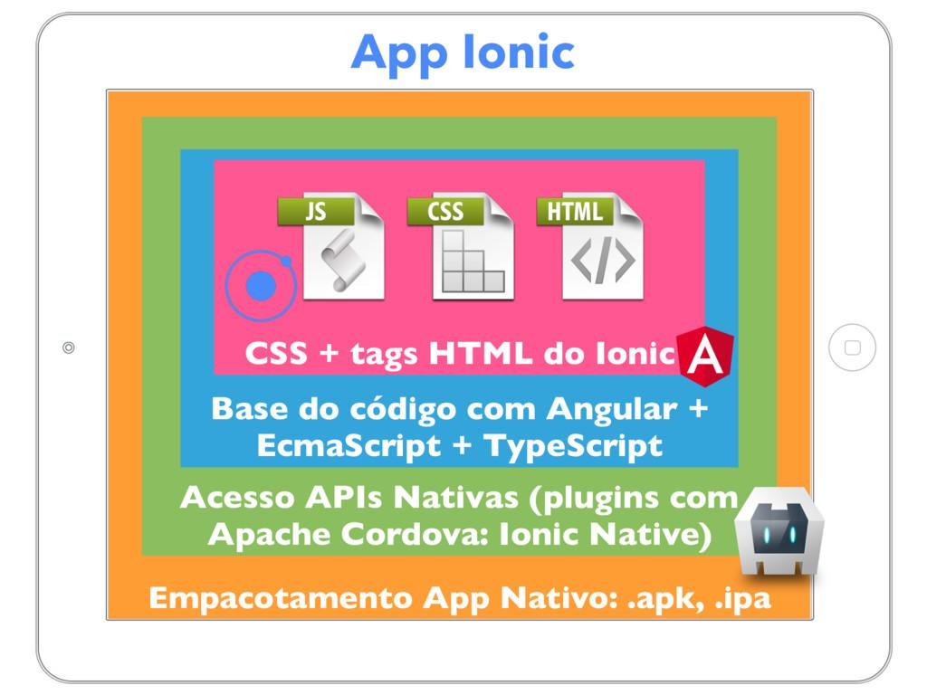 App Ionic Empacotamento App Nativo: .apk, .ipa ...