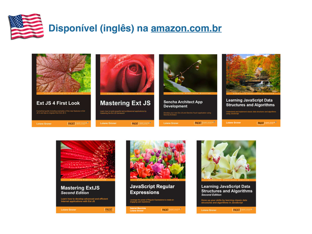 Disponível (inglês) na amazon.com.br