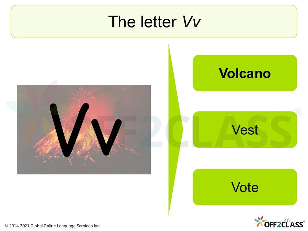 Vv The letter Vv Volcano Vest Vote © 2014-2021 ...