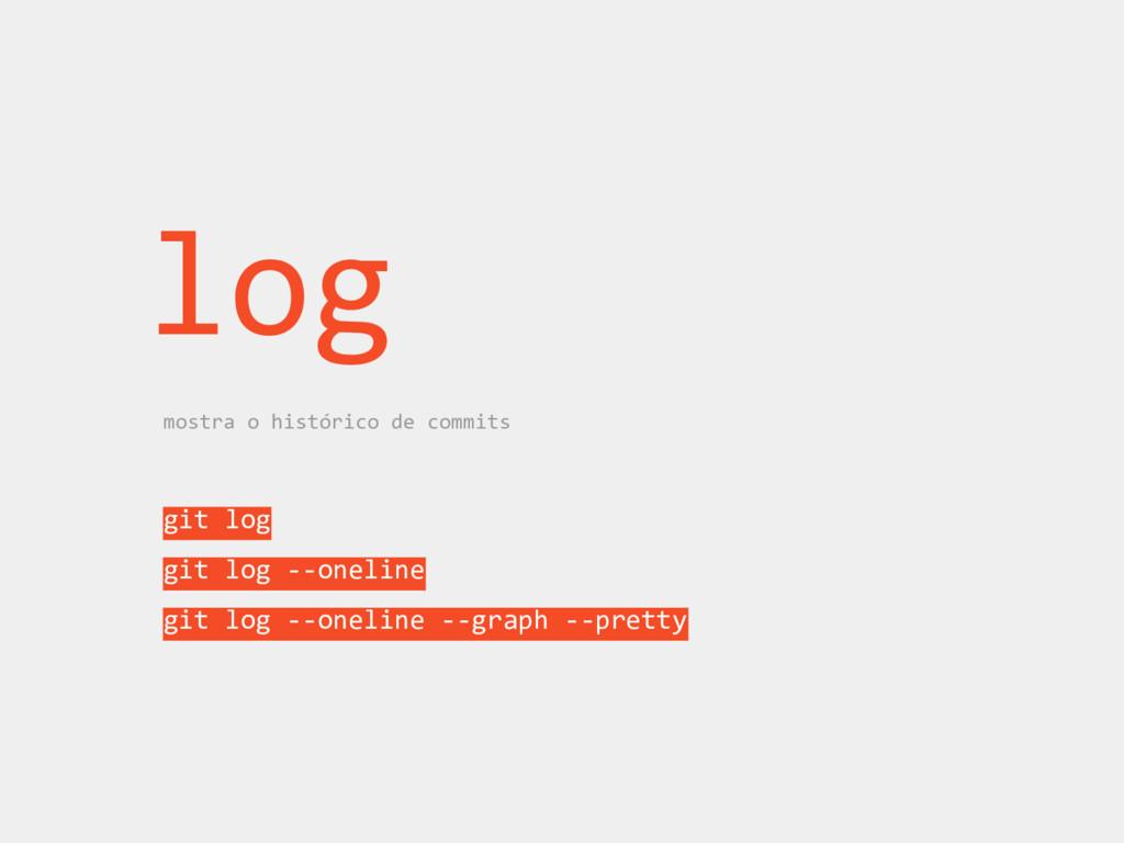 git log git log --oneline git log --oneline --g...