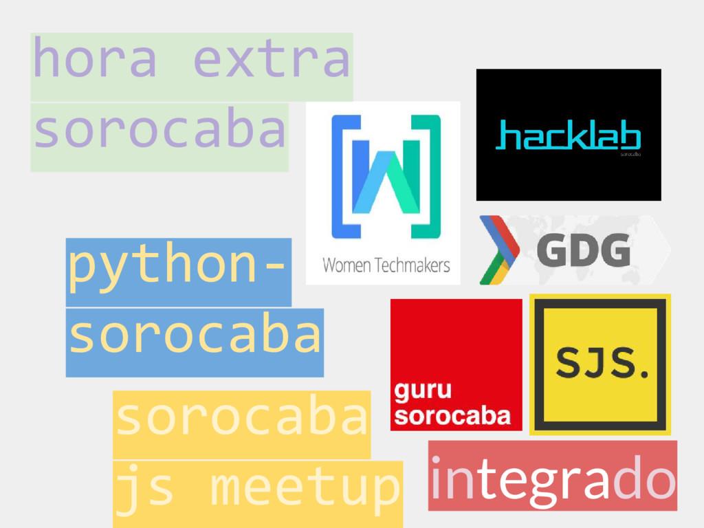 integrado sorocaba js meetup python- sorocaba h...