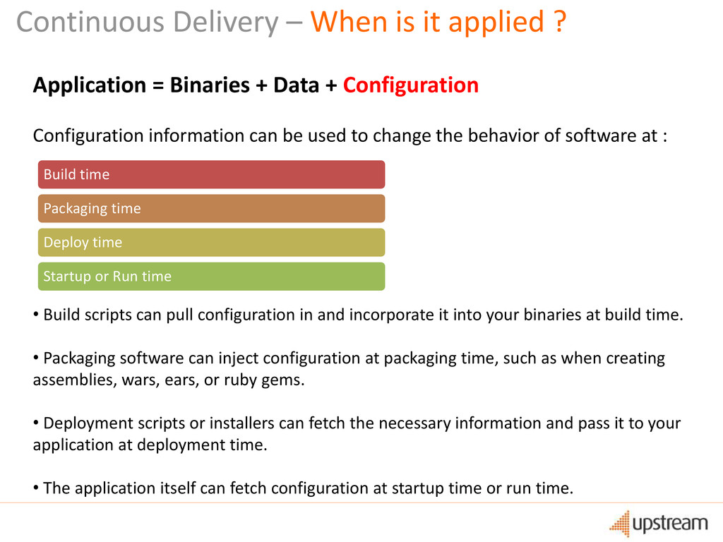 Continuous Delivery – When is it applied ? Appl...
