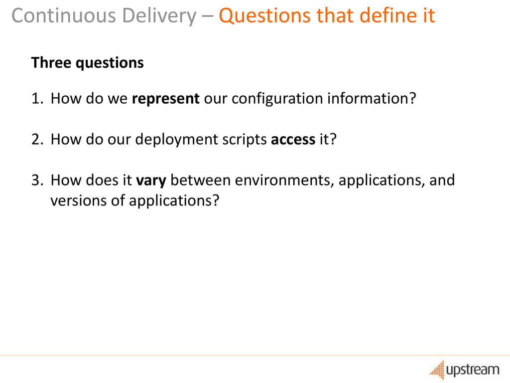 Continuous Delivery – Questions that define it ...