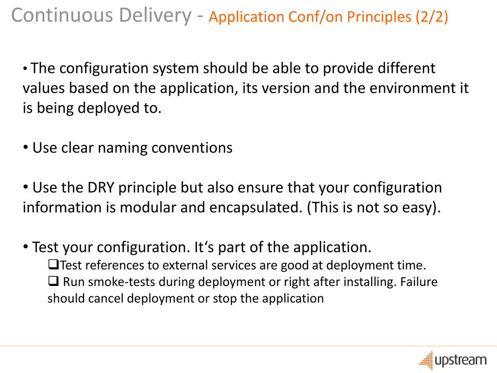 • The configuration system should be able to pr...