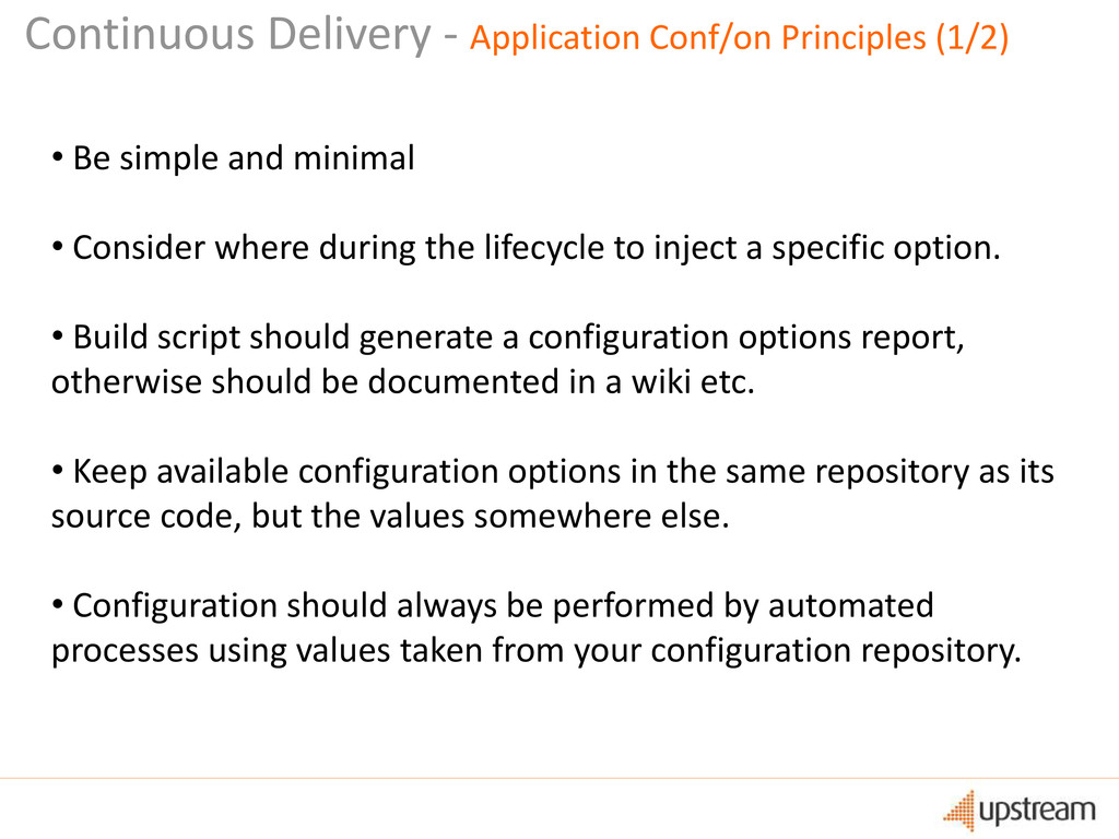 Continuous Delivery - Application Conf/on Princ...