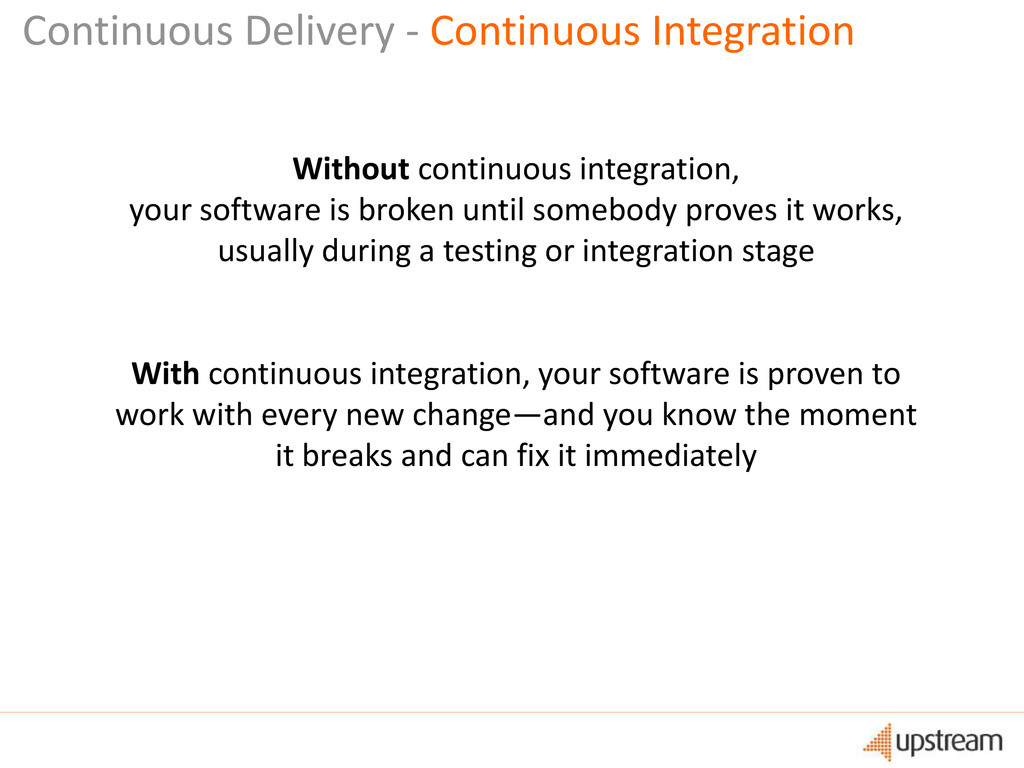 Continuous Delivery - Continuous Integration Wi...