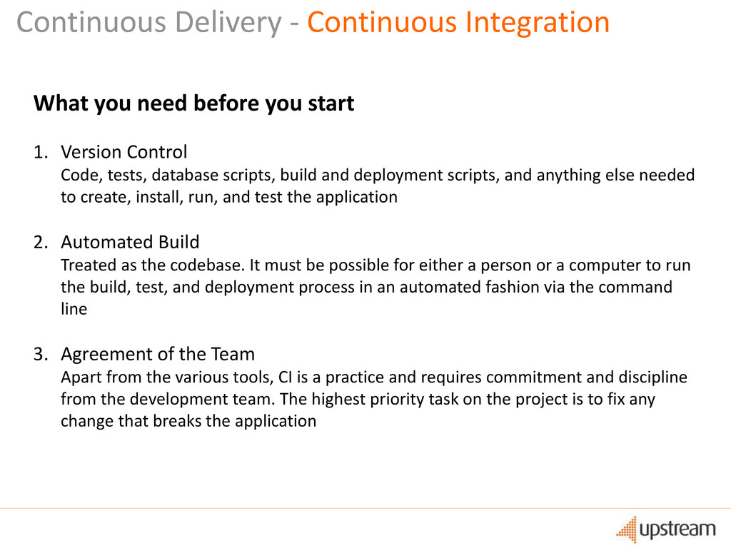 Continuous Delivery - Continuous Integration Wh...