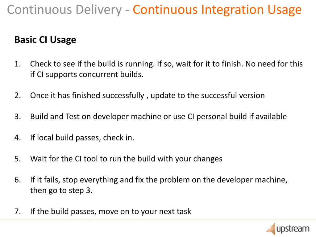 Continuous Delivery - Continuous Integration Us...