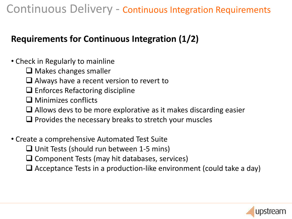 Continuous Delivery - Continuous Integration Re...