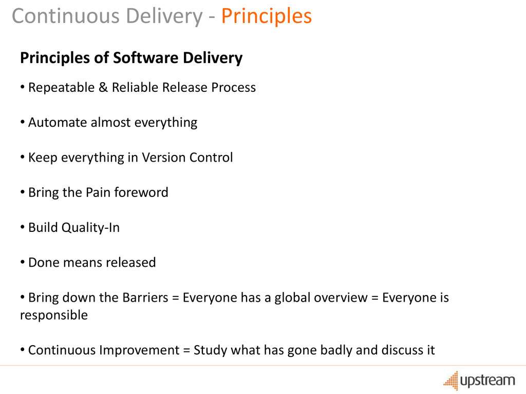 Continuous Delivery - Principles Principles of ...