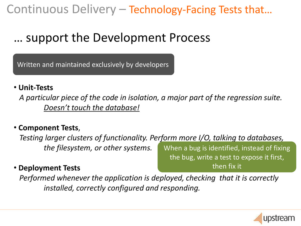 Continuous Delivery – Technology-Facing Tests t...