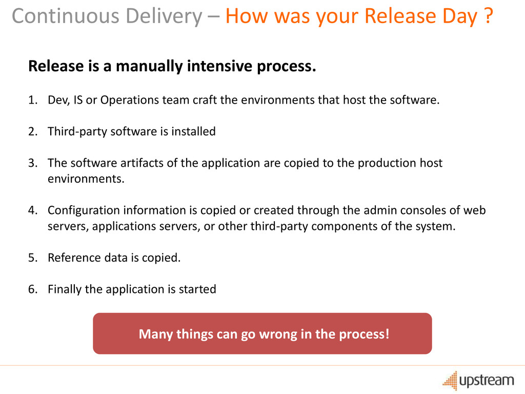 Continuous Delivery – How was your Release Day ...