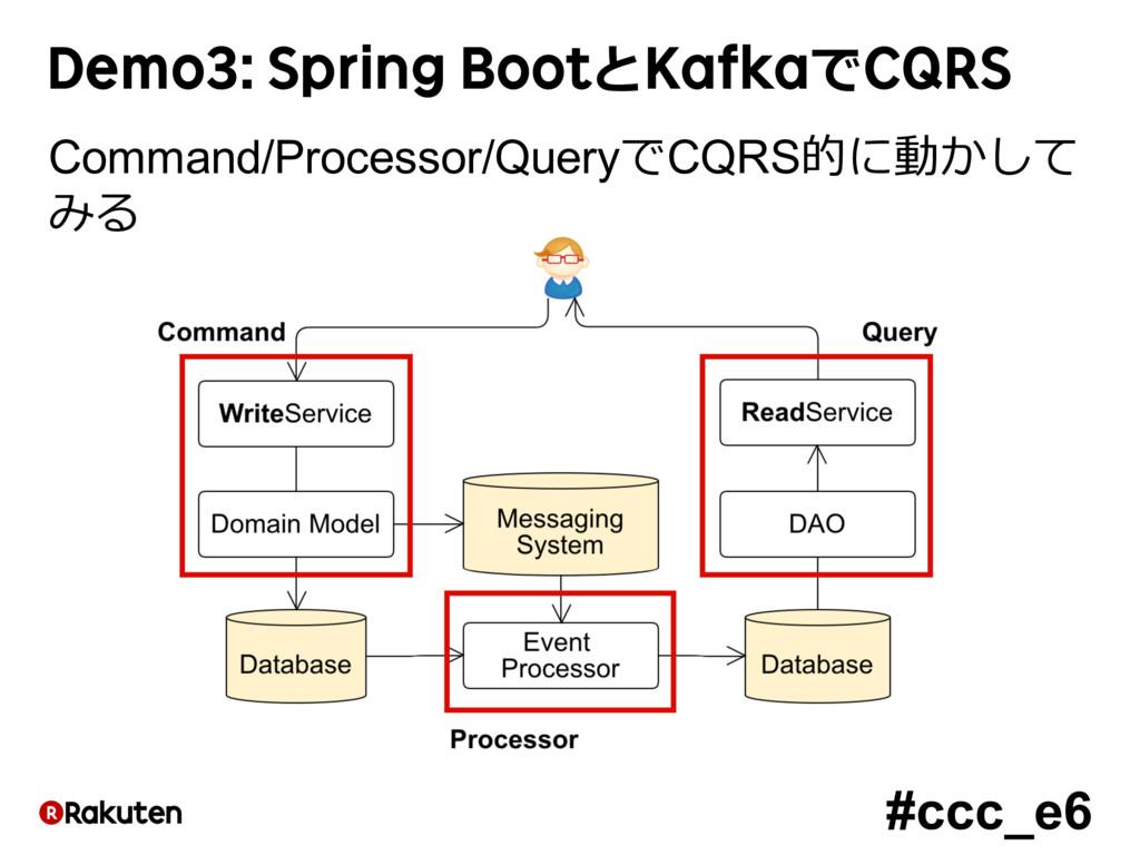 #ccc_e6 Demo3: Spring BootとKafkaでCQRS Command/P...