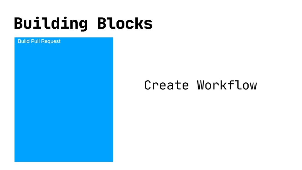 Building Blocks Build Pull Request Create Workf...