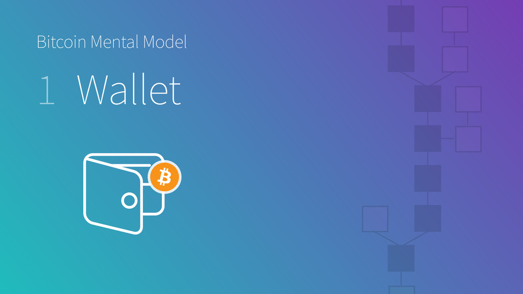 Bitcoin Mental Model 1 Wallet