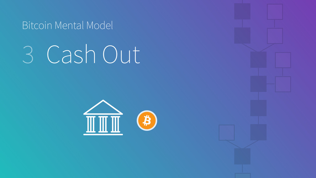 Bitcoin Mental Model 3 Cash Out