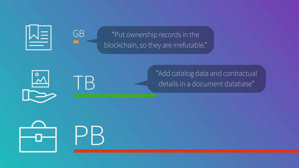 "GB TB PB ""Put ownership records in the blockcha..."