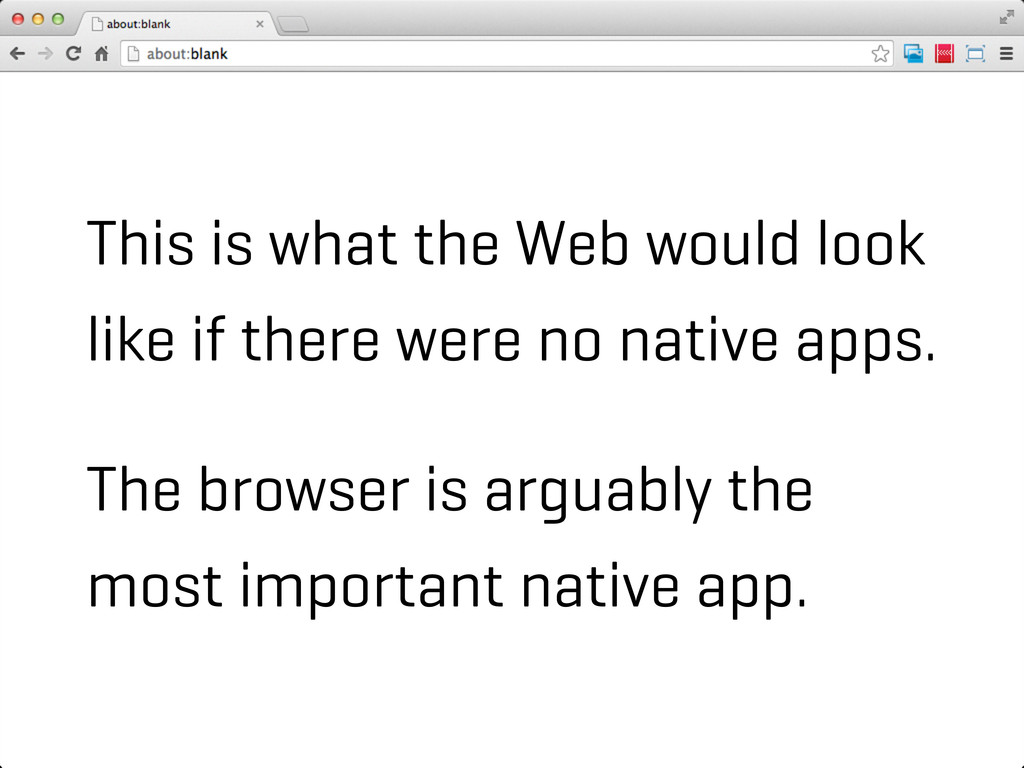 This is what the Web would look like if there w...