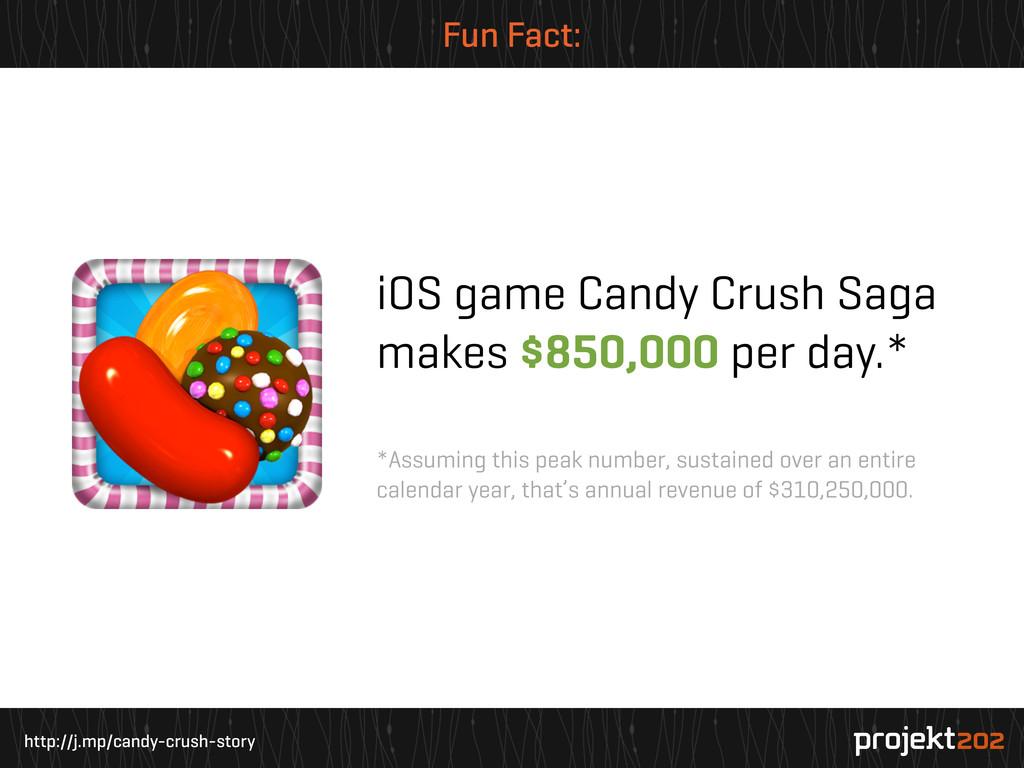 http://j.mp/candy-crush-story Fun Fact: iOS gam...