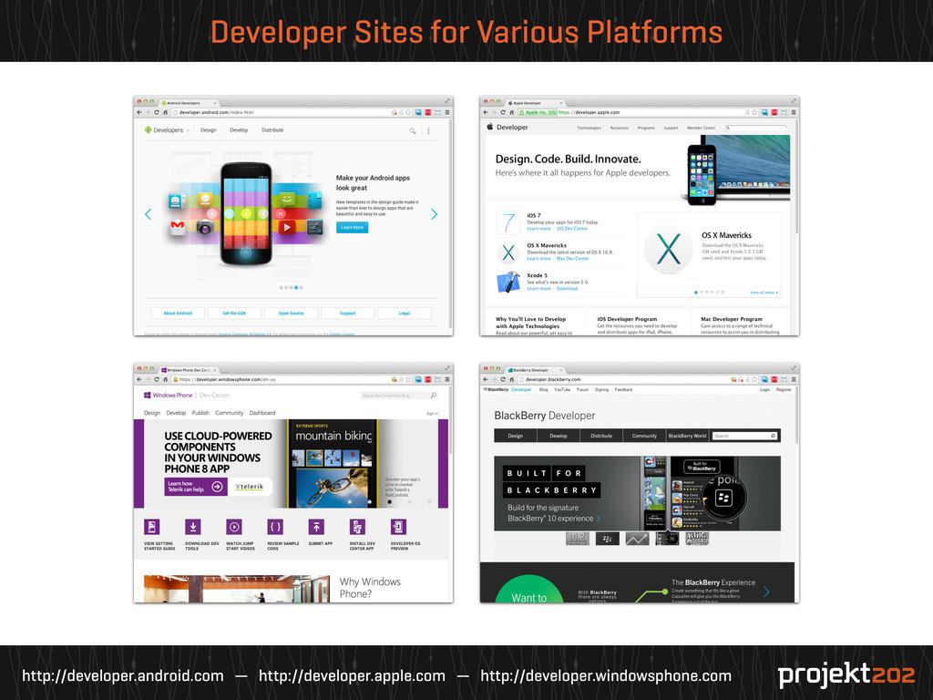 http://developer.android.com — http://developer...