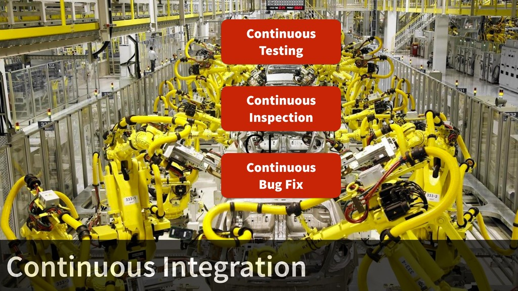 CI Continuous Inspection Continuous Testing Con...