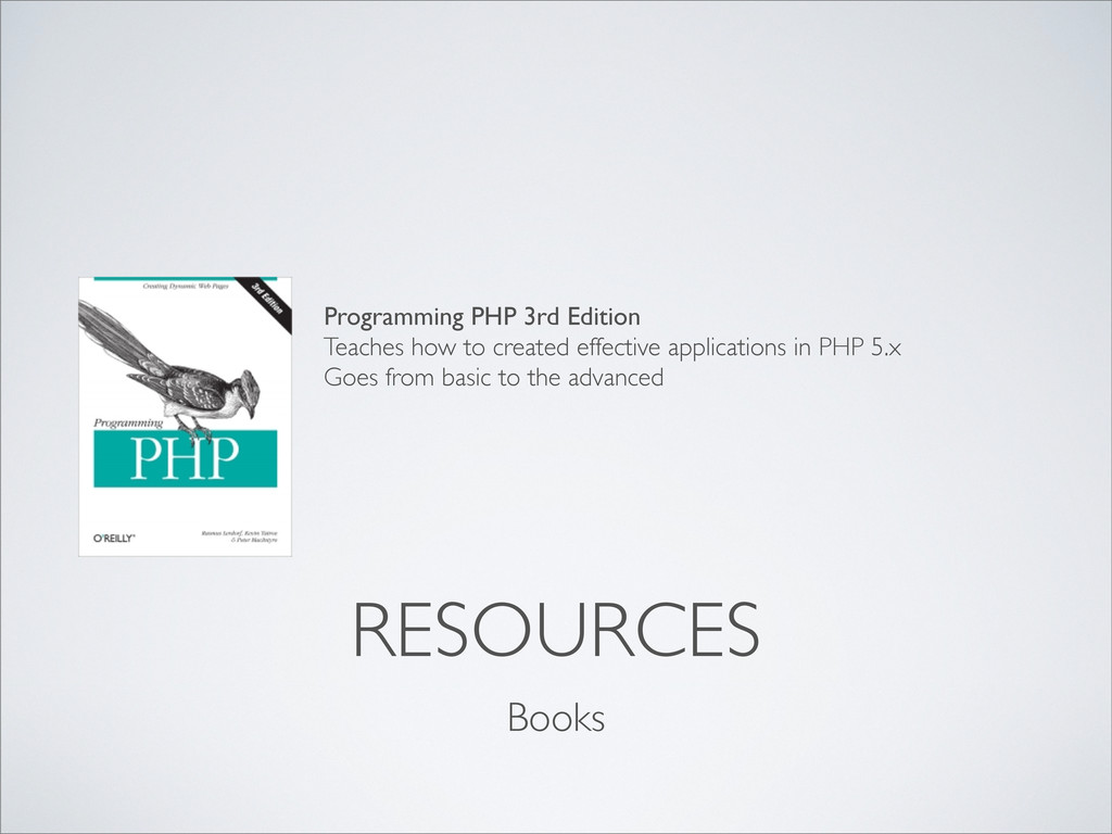 Books RESOURCES Programming PHP 3rd Edition Tea...