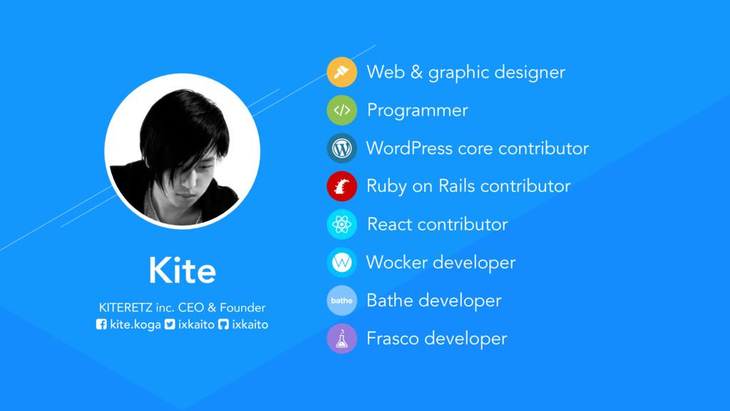 WordPress core contributor Kite KITERETZ inc. C...