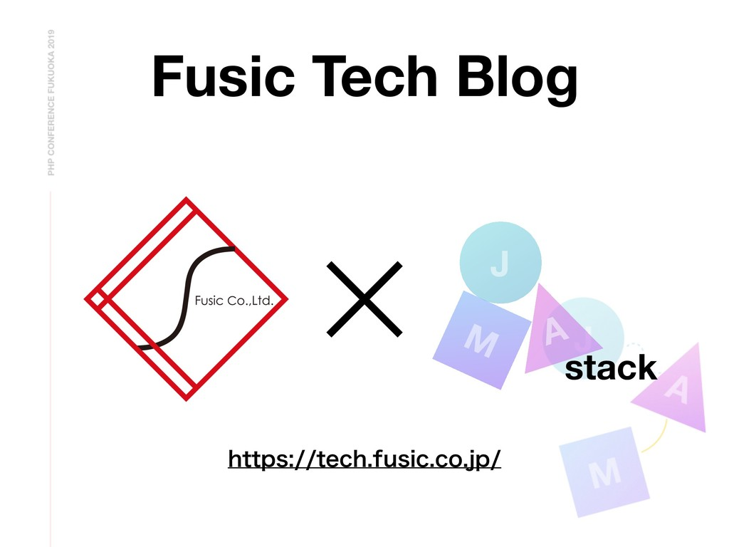 Fusic Tech Blog J A M stack IUUQTUFDIGVTJD...
