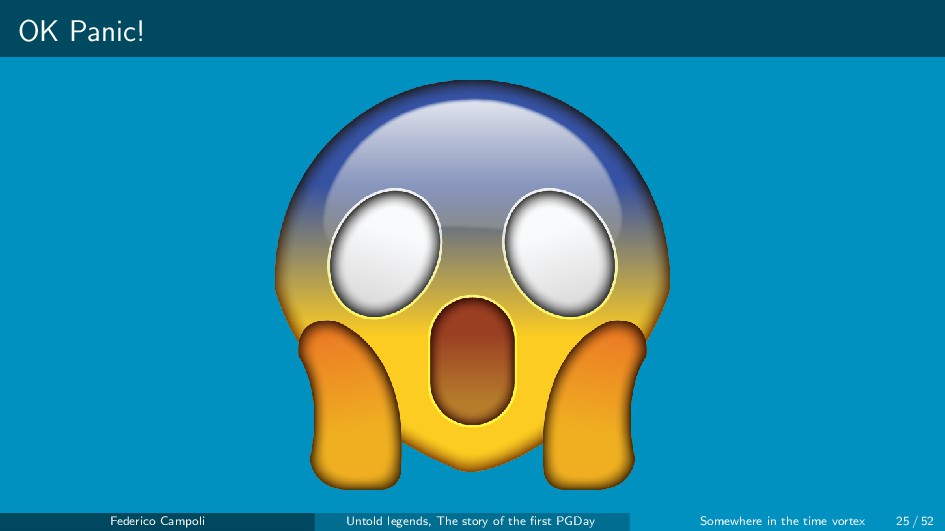 OK Panic! Federico Campoli Untold legends, The ...