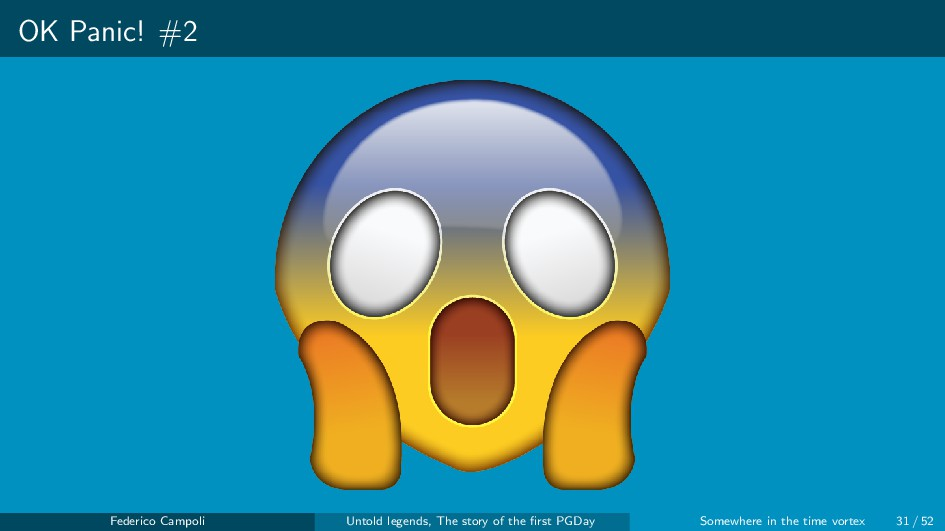 OK Panic! #2 Federico Campoli Untold legends, T...