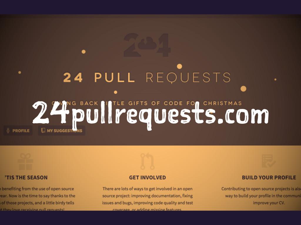24pullrequests.com
