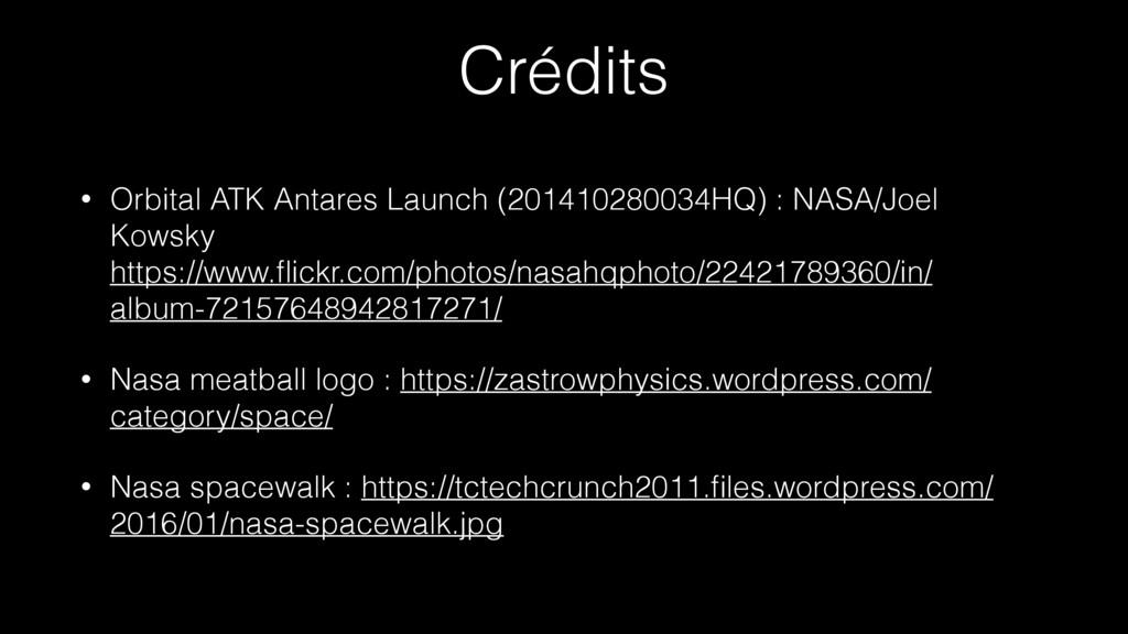 Crédits • Orbital ATK Antares Launch (201410280...
