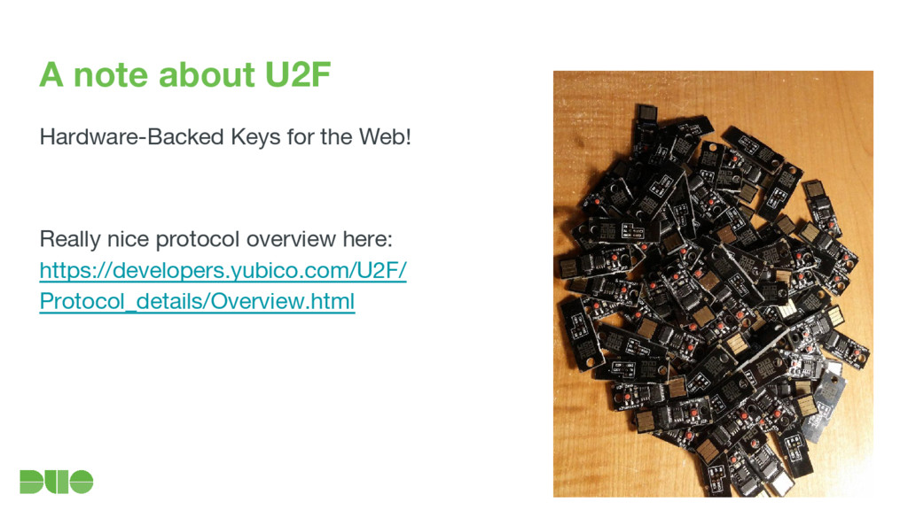 A note about U2F Hardware-Backed Keys for the W...